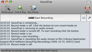 SoundTap Free Mac Audio Stream Recorder