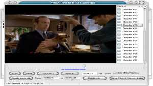 YASA DVD to MP3 Converter