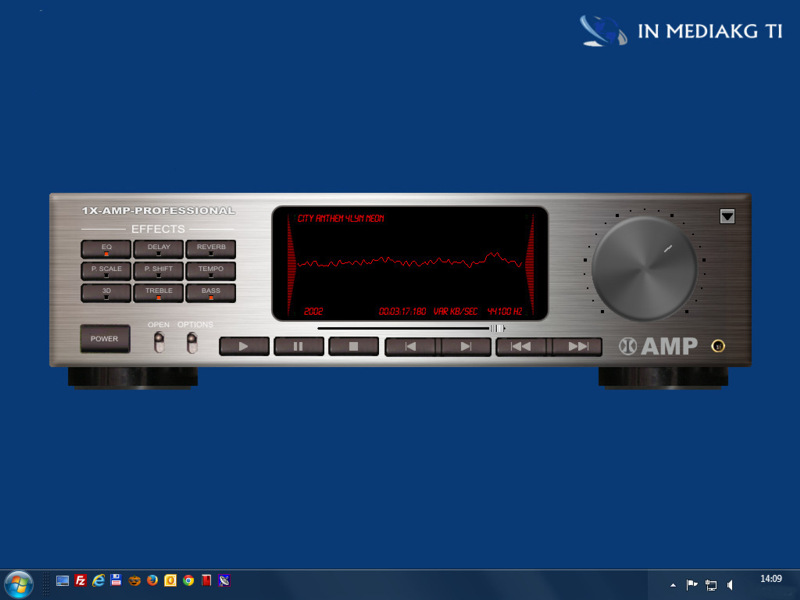 1X-AMP - Audio Player 2020