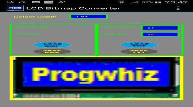 LCD Bitmap Converter Pro for Android