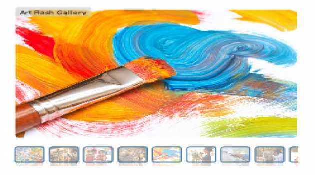 Art Flash Gallery CS3 Component