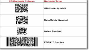 2D Universal Barcode Font and Encoder