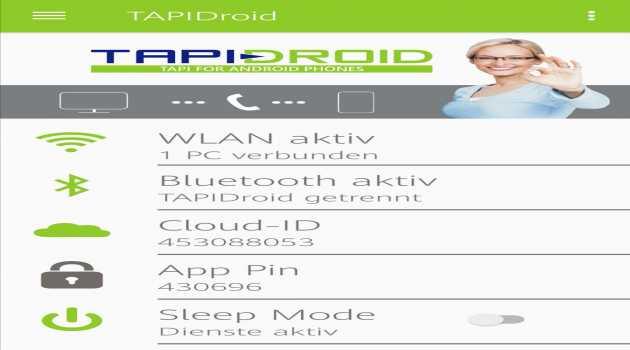 TAPIDroid CTI for Smartphones