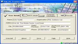 PAL PC Tracker Lite