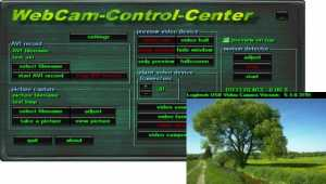 WebCam-Control-Center