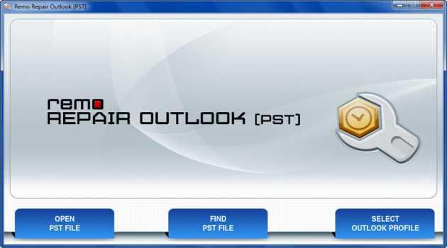 Remo Outlook PST File Repair Tool