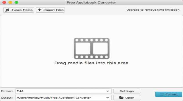 Free Audiobook Converter for Mac