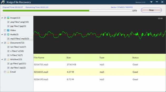 Kvigo File Recovery for Mac