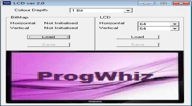 LCD Bitmap Converter Pro