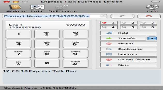 Express Talk Business VoIP for Mac