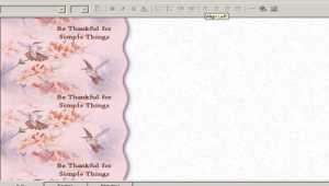 A Country Thanksgiving: Email Stationery