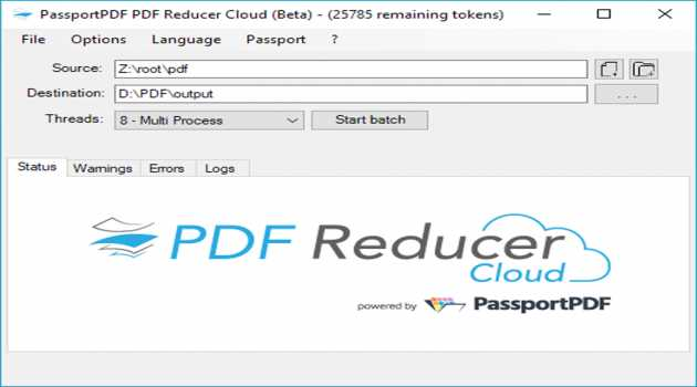 PDF Reducer Cloud