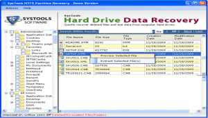 Hard Drive Data Restore Software