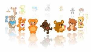Cartoon Bear Game
