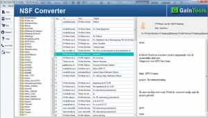 GainTools NSF to PST Converter