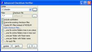 Advanced CheckSum Verifier