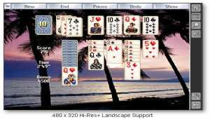 Solitaire City for Palm OS