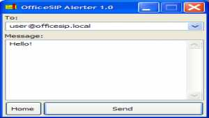 OfficeSIP Alerter