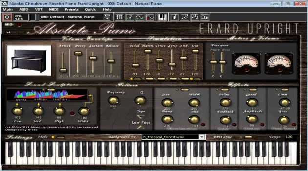 Absolute Erard Virtual Piano