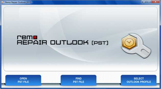 Remo Repair Outlook (PST)