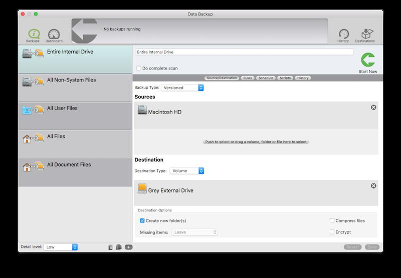 Data Backup Mac
