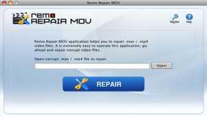 Remo MOV Repair Mac