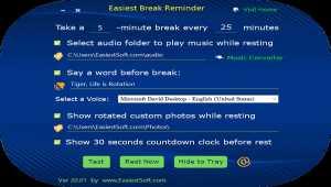 Easiest Break Reminder for Windows