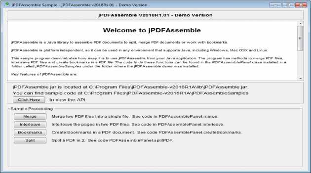 jPDFAssemble for Linux