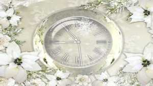Silver Clock Screensaver