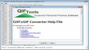 QXF2QIF Converter