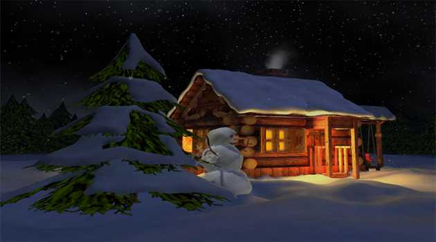 3D Mild Winter Screensaver