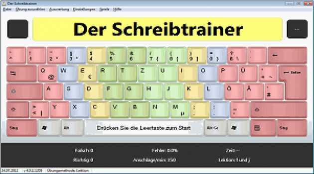 Der Schreibtrainer - 10 Finger schreiben