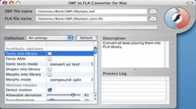 Eltima SWF to FLA Converter for MacOS