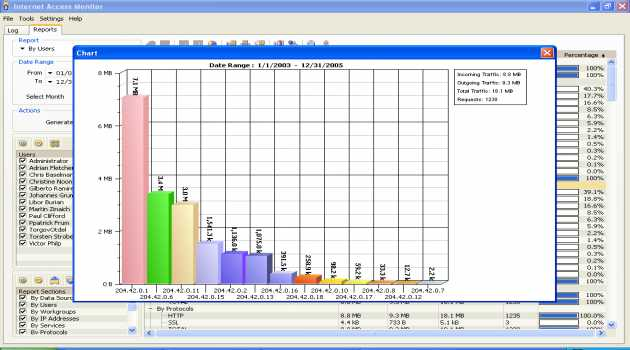 Internet Access Monitor for WinRoute