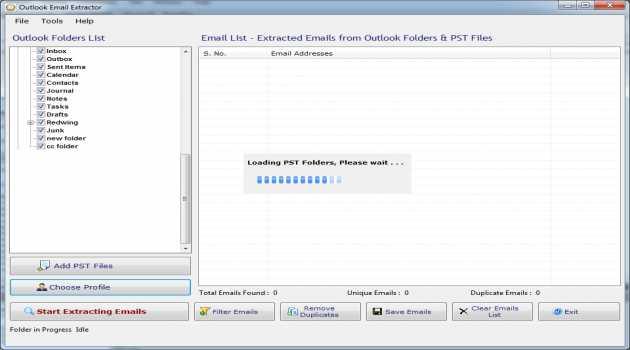 Email Extractor for Outlook