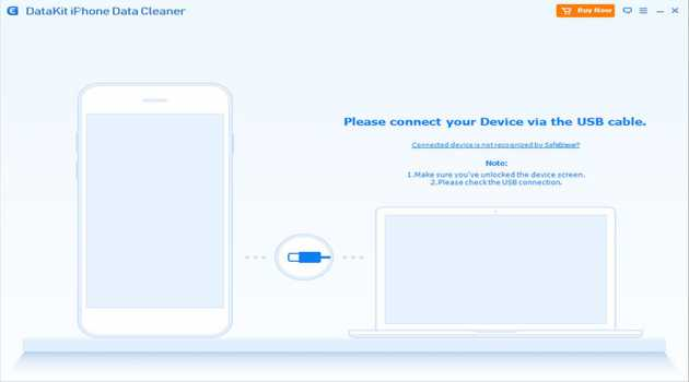 DataKit iPhone Data Cleaner