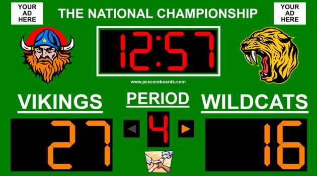 Multisport Scoreboard Pro v3