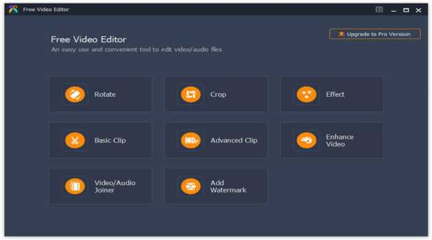 Aiseesoft Free Video Editor
