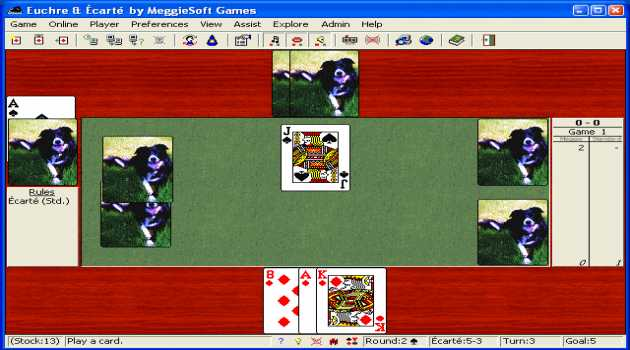 Euchre and Ecarte by MeggieSoft Games
