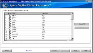 IGEO DIGITAL PHOTO RECOVERY SOFTWARE