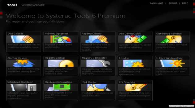 Systerac XP Tools